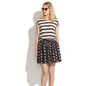Madewell Cotton Mini Skirt Size Small